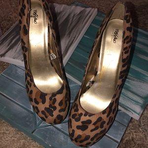 Mossimo Leopard Heels